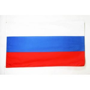 DRAPEAU RUSSIE 150x90cm - DRAPEAU RUSSE 90 x 150 cm Polyester léger - AZ FLAG (AZ-FLAG, neuf)