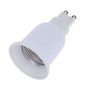 Globeagle Convertisseur de Douille d'ampoule G9 vers E27 avec culot halogène CFL (GLOBEAGLE, neuf)