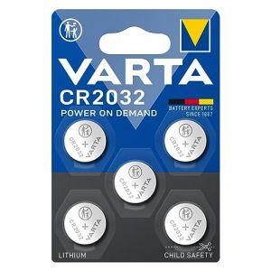 Lot de 5 VARTA Professional CR2032 3V pile au lithium CR 2032 (Stock Bureau Direct, neuf)
