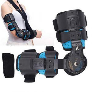 Appui-coude, orthèse réglable pour le bras droit, appui fixe pour élingue, coude, appui de protection pour fractures du bras (Betued, neuf)