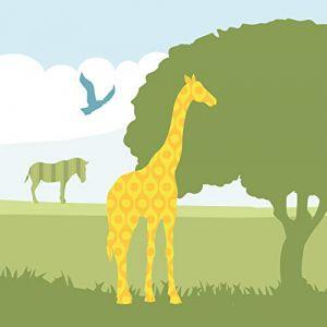 """anna wand design frise murale auto-adhésive, 450 x 11,5 cm, motif africain avec les animaux africain """"Hello Afrika"""", pour chambre d'enfants (design your home, neuf)"""