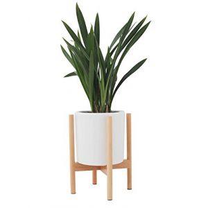 JYCRA Support de Plante, milieu du siècle en bois support de pot de fleur affichage en pot étagère de support pour salon salon jardin balcon coin Décor (shengpan store, neuf)