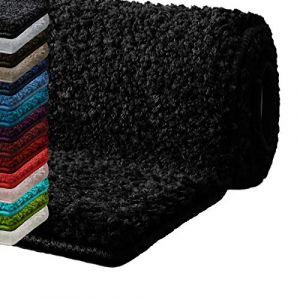 Tapis rond salle de bain noir - Comparer 15 offres