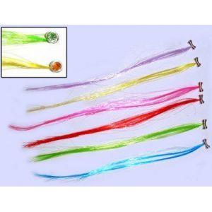 Ensemble de 5 ou 6 mèches de cheveux colorées ( Neuf Marketplace )