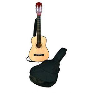 BONTEMPI Gsw 75.2/b - Guitare En Bois Avec Housse De Protection Et Transport - 75 Cm