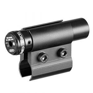 ACEXIER Lunette de visée Laser Tactique Point Rouge avec Support pour Pistolet Picatinny Rail et Fusil pour tir de Chasse Airsoft (BOXUN-EU, neuf)