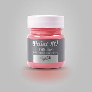 Rainbow Dust - peinture alimentaire comestible - Paint it - Pastel Pink (P A Sugarcraft, neuf)