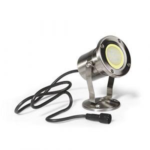 Easy Connect - Spot projecteur pour Bassin en Inox 304 PROJECTOR M GU10 MR20 IP68 extérieur EASY CONNECT ampoule fournie - 65818 - EC-65818 (specialiste eclairage, neuf)