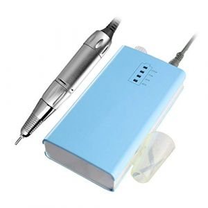 Clou Manucure Percer Machine 30000RPM Acrylique Électrique Manucure Appareil Portable Clou Art Équipement Décorations pour Ongles,Blue (LJUAND DIANHUA, neuf)