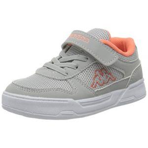 Kappa Dalton Kids, Sneakers Basses Fille, Gris (L'grey/Coral 1429), 31 EU (grizzzgroup, neuf)