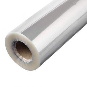 Artibetter 1 rouleau de cellophane transparent wrap cristal épais emballages cadeaux panier pour fleuriste (50cm x 20m) (Canell, neuf)