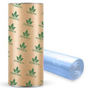 200 M. - ECO Recharge de poubelle à couches Sangenic | Angelcare | Litière Litter Locker II | Recharge équivalente à 16 Recharges Sangenic | Tube en carton pour faciliter la Recharge | 100% Compatible (MarCo, neuf)