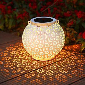 Lanterne Solaire Exterieur Jardin, Infankey Lampe Solaire Exterieur, IP65 Étanche, Suspendue pour Jardin, Terrasse, Balcon (Classe D'efficacité Énergétique A +) (Othrando-EU, neuf)