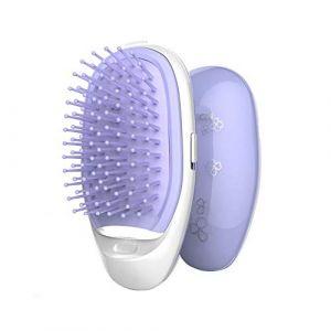 Brosse Lissante Chauffante Ionique Lisseur Cheveux Peigne Electrique Défrisant (liangsen616, neuf)