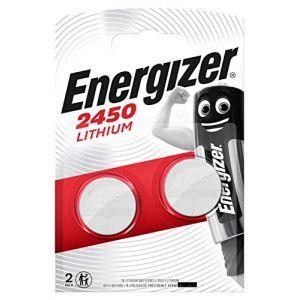 LOT DE 2 PILES ENERGIZER CR2450 - 1 BLISTER DE 2 - LITHIUM 3V (Horlogerie, neuf)