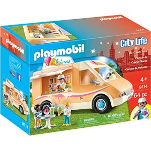 Playmobil City Life - 9114 - Camion de crème glacée - Ice Cream Truck (WarehouseWatches, neuf)