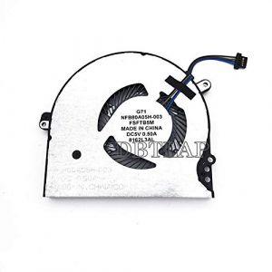DBTLAP CPU Ventilateur Compatible pour HP Pavilion 15-CK 14-BK 15-CCXXX 14-BKXXX 15-CKXXX Series CPU Ventilateur Refroidissement NFB80A05H-003 927918-001 NS75000-16K11 (DBTLAP-LAP, neuf)