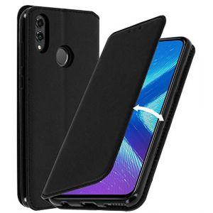 AURSTORE Coque Huawei Honor 8X, Pochette Housse Etui [Porte Carte Credit Ticket Metro], [Fonction Stand Video],[Fermeture Magnetique] Plusieur Couleur Disponible Honor 8X (Honor 8X, Noir) (AURSTORE, neuf)