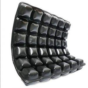 Le coussin carré protège l'air de coussins d'hémorroïdes de coussin imperméable gonflable lavable de coussins idéal pour les fauteuils roulants (FYWD, neuf)