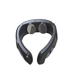Cou Masseur Pulse de choc électromagnétique Instrument de sphygmothérapie cervicale Shiatsu-black (XHCFF, neuf)