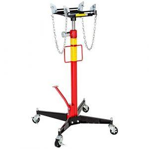 TecTake Vérin de Fosse hydraulique en Acier - jusqu'à 500 kg | Haute qualité - Poids : 38 kg (Made4Home SAS, neuf)