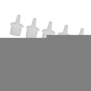 Toygogo 10 Pièces Bouchon de Bouteille en Plastique 3,1 x 3,5 x 1,7 cm (Amateur players, neuf)