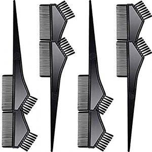 Brosse de coloration des cheveux 8 PCS Peigne de coloration des cheveux Peigne de coloration des cheveux DIY Salon Outil Set de coloration des cheveux (luckiner, neuf)