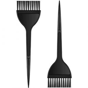 2 Pièces Brosse de Coloration de Cheveux pour DIY Coloration de Cheveux Outils de Teinture de Cheveux de Salon (TeeGemope, neuf)