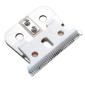 Anself Lame de rechange pour coupe-cheveux ANDIS GTX pour tondeuse à cheveux électrique, Lames de rechange en acier et en céramique Remplacement de la lame T-Outliner (BOTAO, neuf)