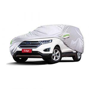 Bâche Voiture Couverture spéciale de voiture de Ford Edge SUV épais tissu Oxford Protection contre le soleil intérieur et extérieur Protection contre la pluie (taille : 2018) (Denim Home, neuf)