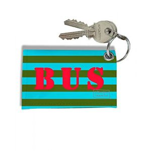 Porte-clés Carte de Bus, Etui Porte-clés Carte de Bus & Pass Navigo réf. 930 (bistrakoo, neuf)