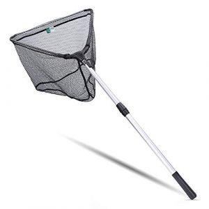 Zite Fishing Epuisette Pêche Pliable Télescopale En Caoutchouc Souple En Maille Filet - Différentes longueurs (160) (Zombolo GmbH, neuf)