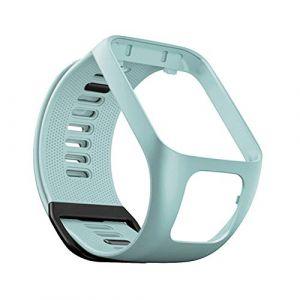 Bracelet de Montre en Silicone pour Tom Tom Runner 2/3 Bracelet de Étanche et Sport pour Tomtom Golfer 6 Adventurer (YVYV-FR, neuf)