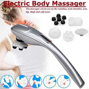 Masseur électrique, masseur de dos for le dos et le dos du cou, soulage le stress et la douleur (WAJAYZ, neuf)