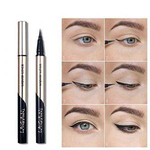 Onkessy Eyeliner Liquide Imperméable À l'eau Smudge-proof Maquillage Anti-larmes Formule NON Toxique Stylo Doublure Liquide Pour Les Yeux (Yiitay UK, neuf)