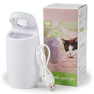 Ofanyia Jouet de lumière interactif électrique de lumière de Chat d'animal familier drôle Automatique tournent Le Jouet de Chat de taquiner (Hanyia EU, neuf)
