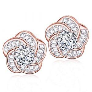 Kowentik Boucles doreilles femmes diamant (Kowentik, neuf)