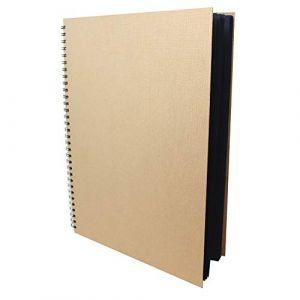 Artway Enviro - Carnet à dessin - grandes feuilles cartonnées/noires - 100 % papier recyclé - 270 g/m² - A3 - 30 feuilles (Artway Ltd, neuf)