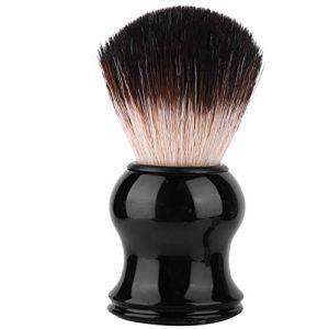 NITRIP Portable Hommes Doux Brosse Cheveux Poignée Délicate Barbe Rasage Brosse Barber Salon Outil(#03) (Nitrip.ou, neuf)