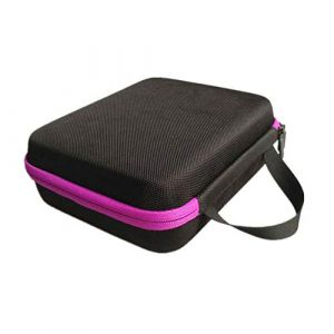 Guoyihua Huile essentielle-Boîte de rangement-Portable Sac de rangement pour 30bouteilles d'huile essentielle, violet, 15 ml (YIHUA, neuf)