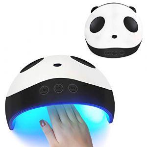 36W UV LED Panda Sèche-Ongles Lampe USB Rechargeable Auto-détection Nail Synchronisation Gel Polonais Durcissement Lumière Nail Art Machine (Ruiqas, neuf)