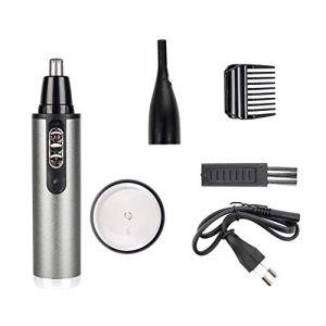 ThreeH Lame rasoir rechargeable lavable Rasoir pour oreilles et sourcils avec lumière LED T211 (ThreeH, neuf)