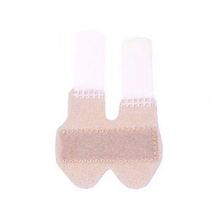 Heallily 1 pc beige déclencheur attelle doigt respirant attelle doigt attelle maillet réglable doigt attelle attelle doigt attelle pour les doigts blessés (taille l conception quatre saisons) (Rasecor, neuf)
