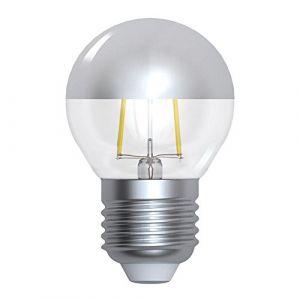 Ampoule LED à filament Sphérique E27 4W Calotte argentée Girard Sudron (Ampoules Service, neuf)