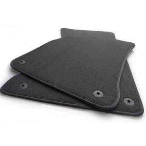 Tapis de sol pour audi a4/s4/rS4-b6/b7 original qualité tapis velours 2 à l'avant (khteile, neuf)