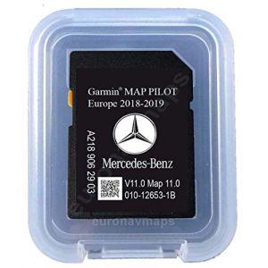 Carte SD MERCEDES (Star1) GARMIN MAP PILOT Europe 2018 v10 (A2189062903) (Phoenix Store EU, neuf)