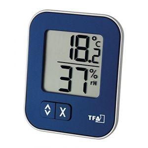 Thermomètre Hygromètre MOXX 30.5026.06 bleu (Wetterladen - Freizeit- und Sportartikel, neuf)