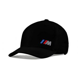 BMW M Collection Bonnet Casquette M Power réglable bande BMW M bandes 80162454739 (KRAH+ENDERS FULDA, neuf)