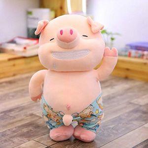 Jouet En Peluche Petit Cochon Sexy, Oreiller De Cochon De Plage En Peluche Animal Mignon, Jouet Pour Poupée, Cadeau D'Anniversaire 25Cm Blanc (lizhaowei531045832, neuf)