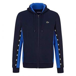 Lacoste Sport Veste de survêtement pour Homme - Bleu - XXX-Large (Merkkur, neuf)